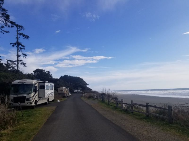 Kalaloch Family campgrounds in washington, Photo Credit: John Tillison