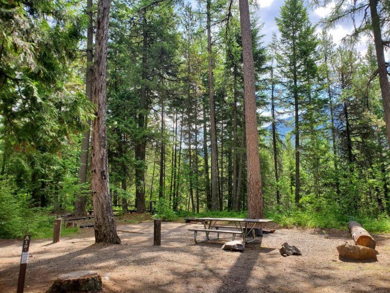 Fish Creek Campgrounds in Montana, Photo Credit: John Tillison