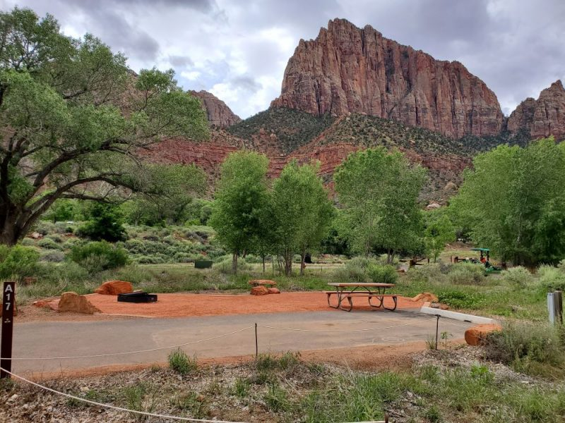 Watchman Campground at Zion National Park, Photo credit: John Tillison