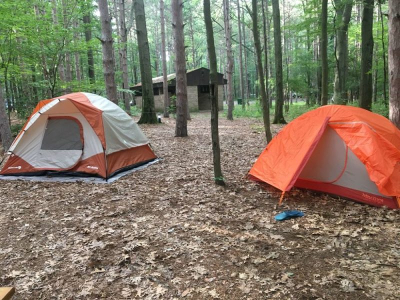 Watkins Glen Campgrounds in the US. Photo Credit: Neha Kulshrestha