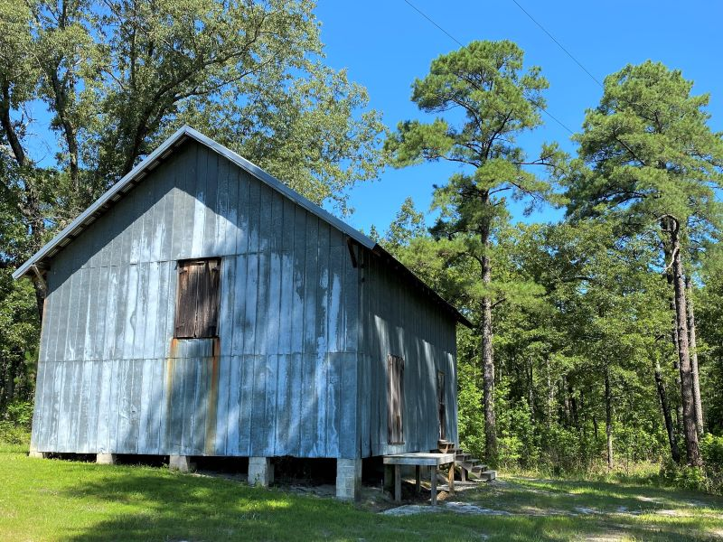 Farm Building at Carvers Creek State Park