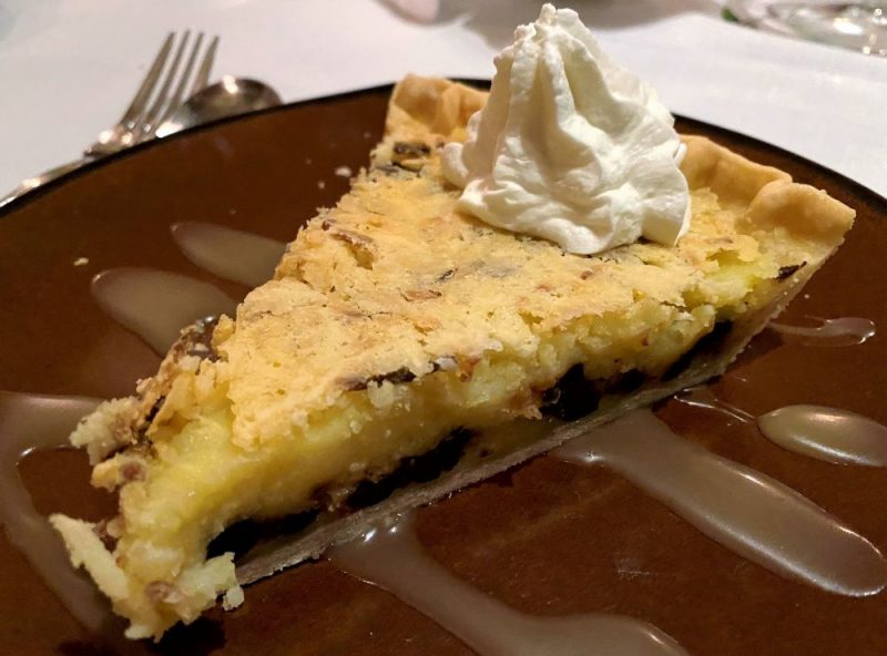 Georgia Sea Grill restaurants on Saint Simons Island coconut chocolate chip pie