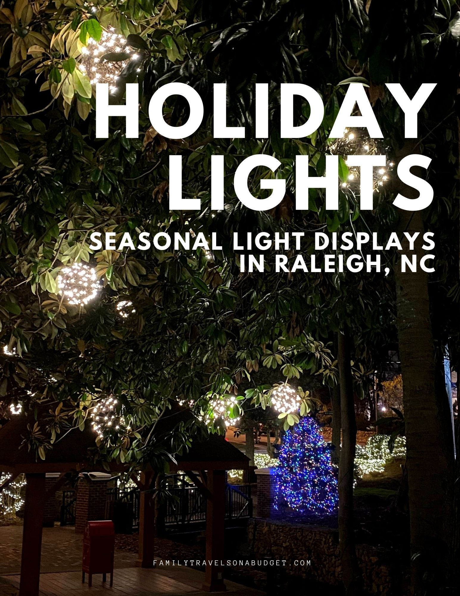 Holiday lights in the Triangle bring joy and fun for everyone! Local parks and holiday drive through displays bring joy to everyone. This list of holiday light displays in the Raleigh area include perennial favorites and newcomers like the display at Dorothea Dix Park. Family friendly holiday fun for everyone! Family friendly. Christmas ideas. Family Christmas. Things to do in Raleigh. via @karendawkins