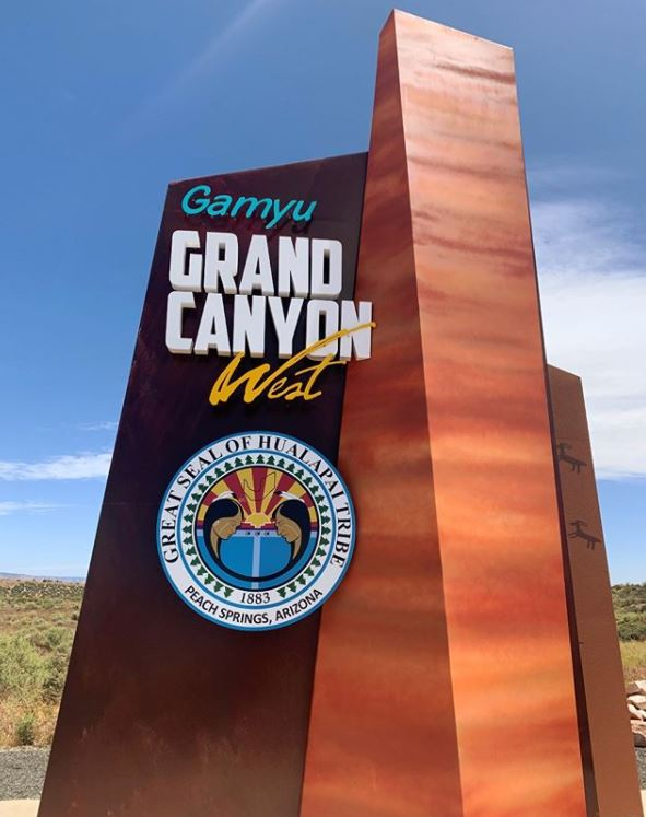 Grand Canyon West, recreation area provided by the Hualapai Tribe for Grand Canyon vacations for families