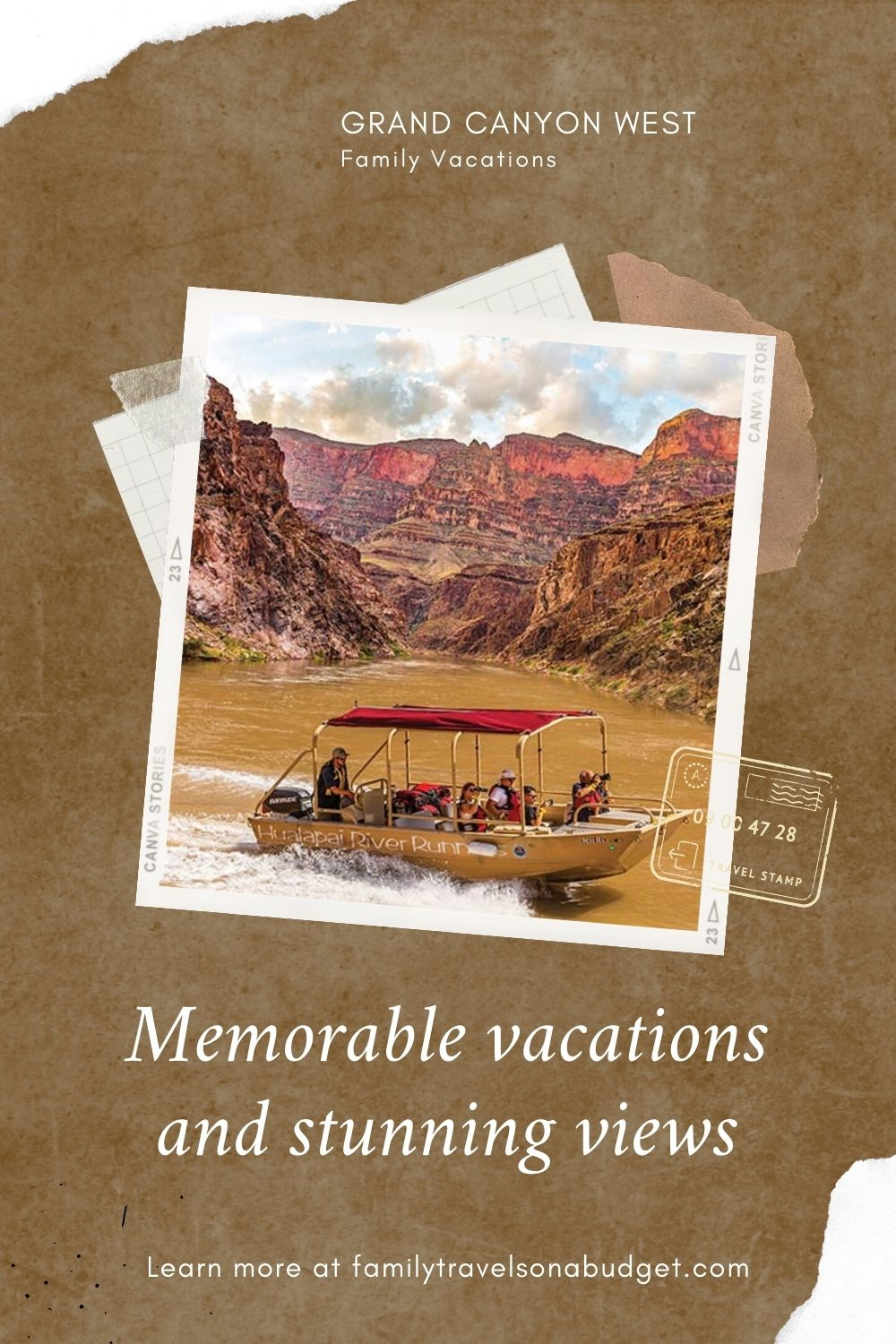 Grand Canyon vacations for families should include time at Grand Canyon West. Family friendly adventure, Native American culture and a break from the typical crowds at the national park make this a place to unwind and reconnect with family and with the earth. Sunset views, stars overhead, and s'mores are just a few of the bonuses you'll experience. Read our guide to learn more. Includes planning links. via @karendawkins