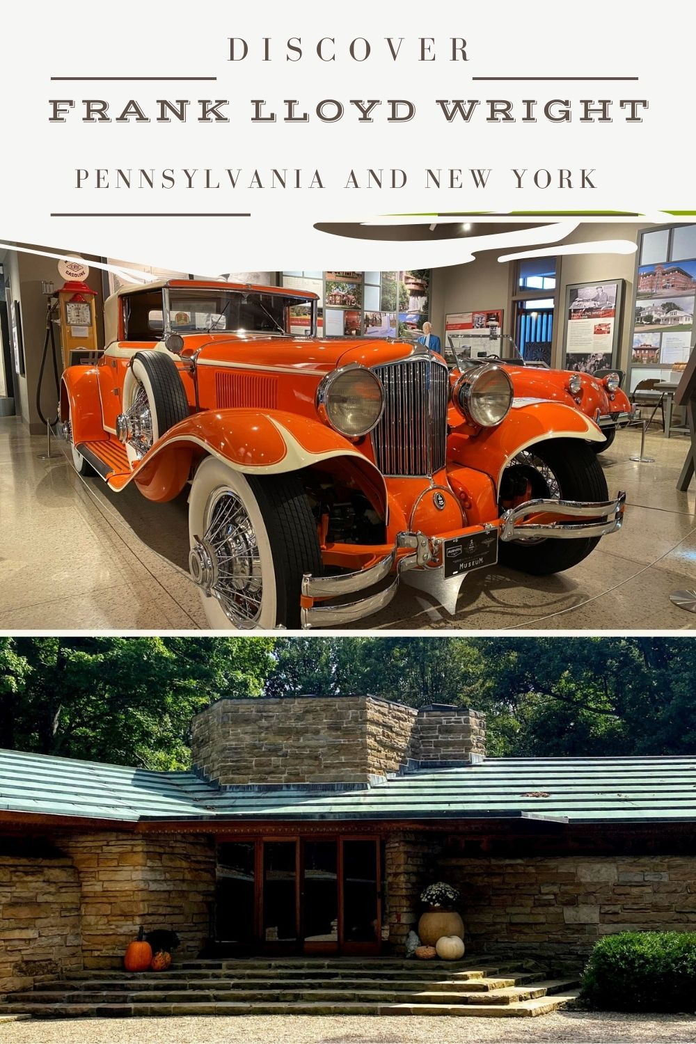 The Great Wright Road Trip goes through PA and NY to explore Frank Lloyd Wright's career arc, from Prairie Style to his career-defining Usonian design. See his San Francisco office in Erie, PA -- yes, the actual one! Frank Lloyd Wright houses in PA and NY make a unique road trip idea. via @karendawkins