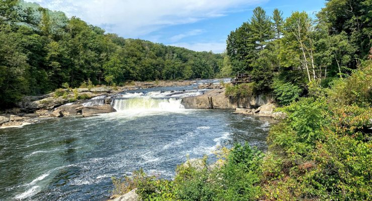 Best State Parks in PA includes Ohiopyle State Park in the Laurel Highlands